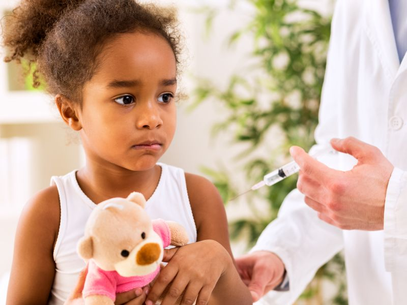 News Picture: A Flu Shot May Spare Your Young Child a Hospital Visit