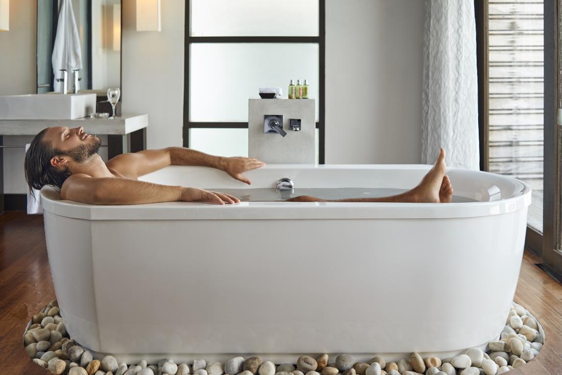 bathing before bed vivid dreams
