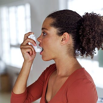 Coughing is a symptom of asthma, a disease that should be monitored by a doctor.