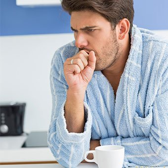 Alt TextChronic coughing can be a sign of a cold or a more serious disease making it a symptom you shouldn't ignore.