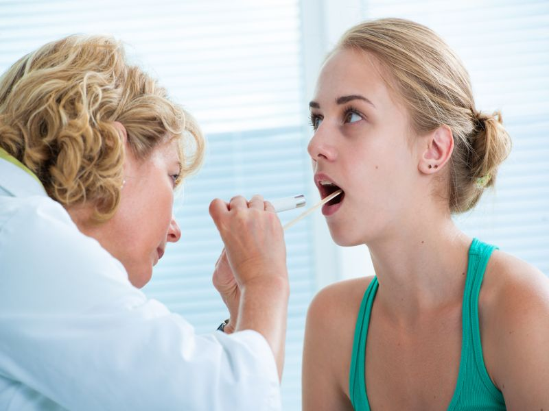 News Picture: Could Strep Throat Become Untreatable?