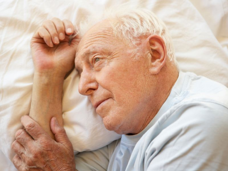 News Picture: Dementia Caregivers Often Face Sleepless Nights
