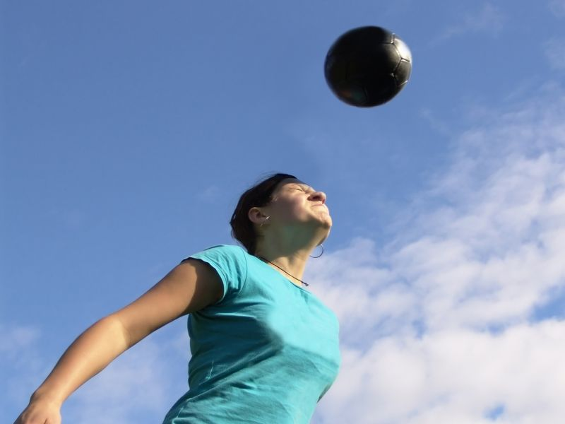 News Picture: Gene Test Might Spot Soccer Players at High Risk for Brain Trouble